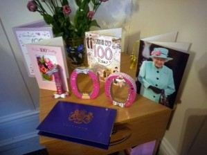 100th birthday celebration at Oakdene Care Home